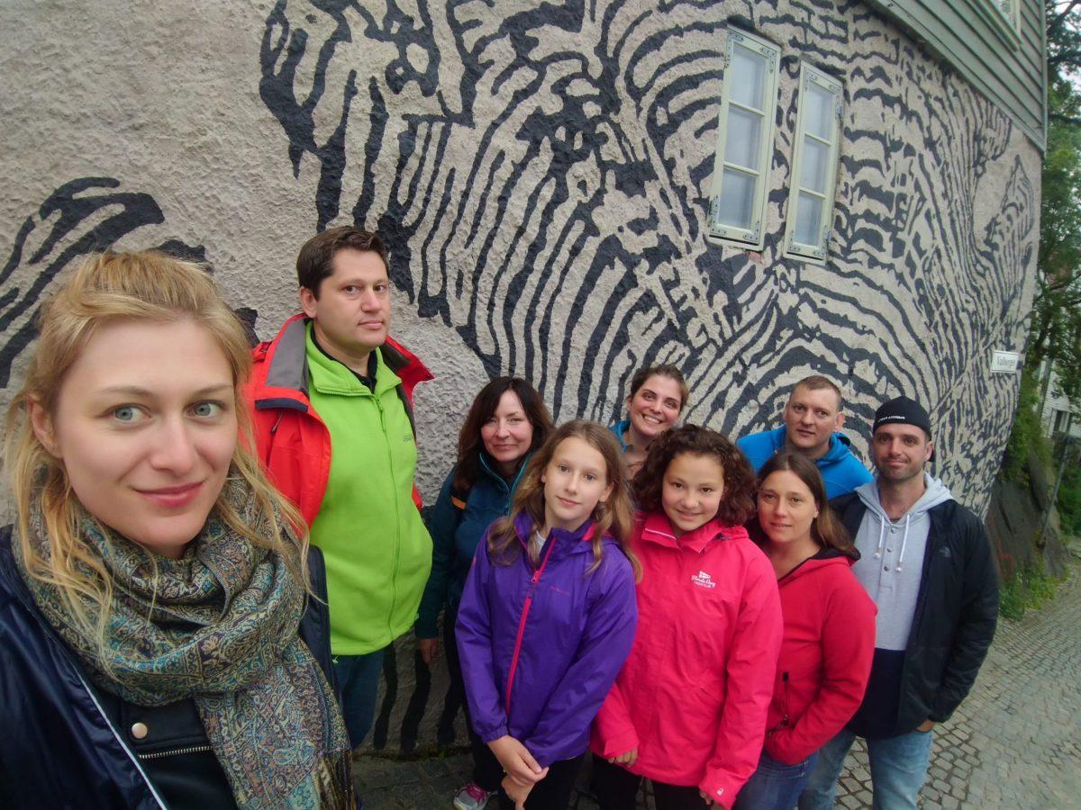 Trekking w fiordach