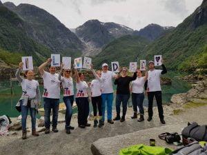 Rejs żeglarstwo woda Norwegia