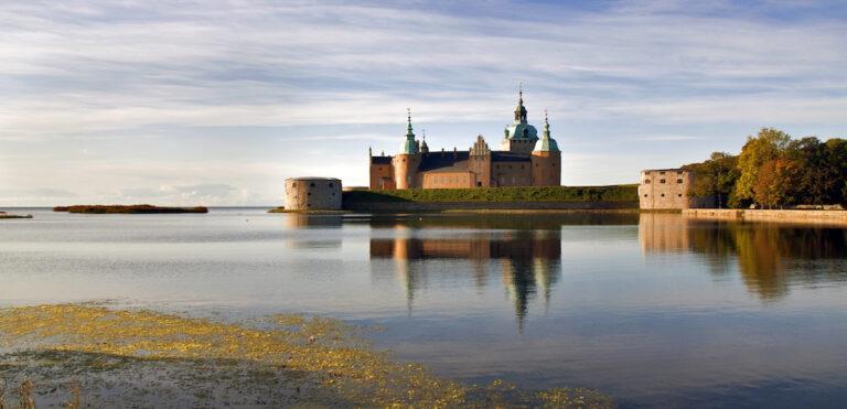 Rejs jachtem Zamek w Kalmar