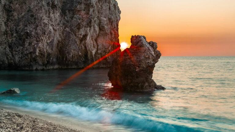 Lefkada plaża