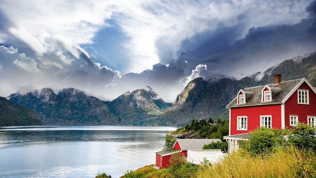 Norwegia Krajobrazy Trekking Sail